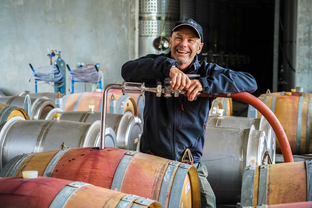 Fraser Gallop Estate Winemaker Clive Otto